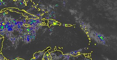 [GOES-8 Enhanced Infra-Red- updated every half hour - http://wwwghcc.msfc.nasa.gov]